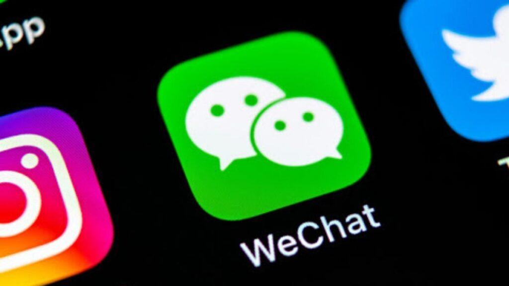 aplicativo da wechat
